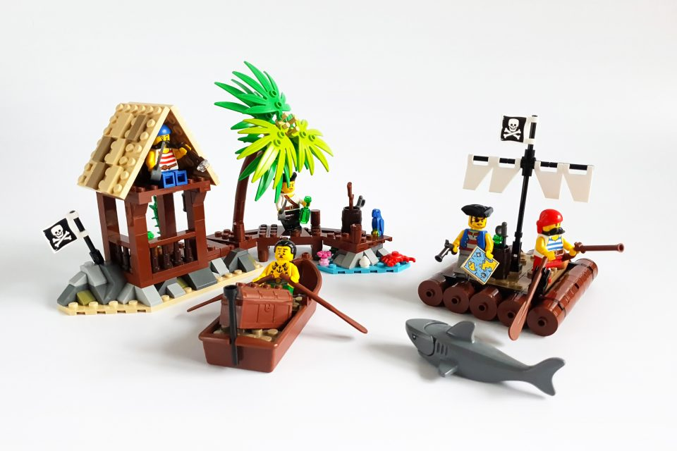 """Featured Image for """"Smuggler's Shanty and Castaway's Raft"""" by Kozikyo86"""