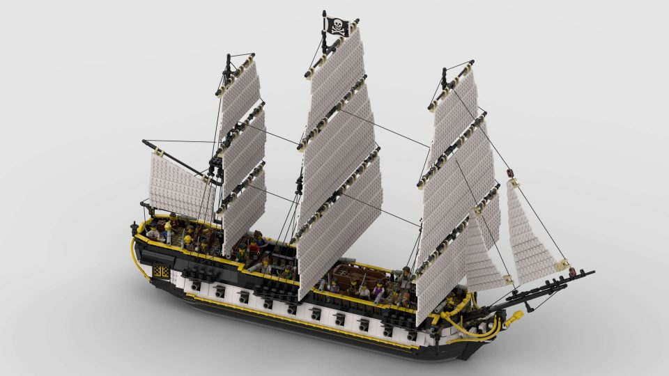 """Featured Image for """"Under Jolly Roger! Estrella - Frigate"""" by NOD"""
