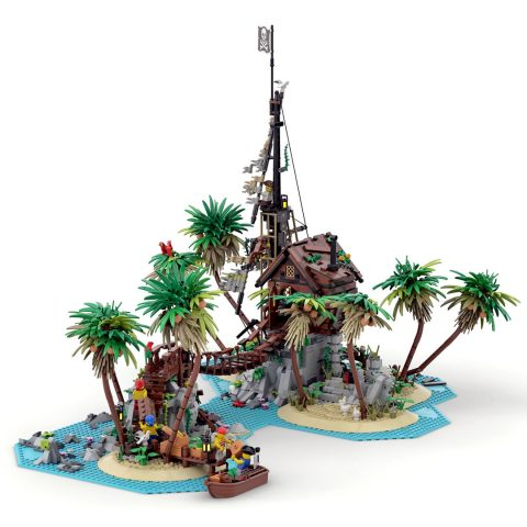 """Thumbnail Image of """"Forbidden Island"""" by Elusys Ra Arwal"""