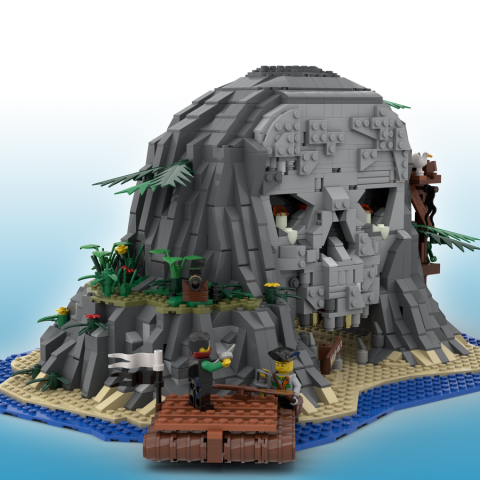 "Thumbnail Image of ""Return To Volcano Island"" by micro_model_maker"