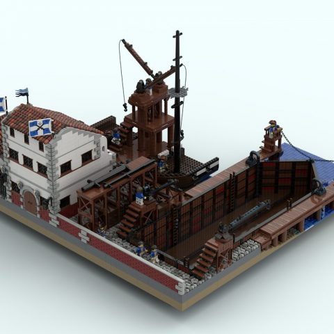 "Thumbnail Image of ""Drydock, Beauchamp Shipyard"" by CapOnBOBS"