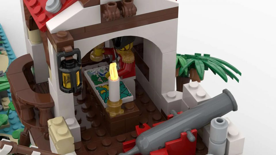"""""""Imperial Island Fort"""" by BrickHammer - Admiral's Quarters"""