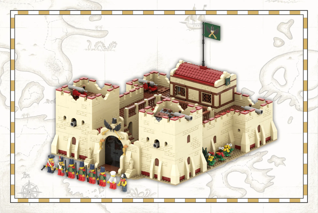"""Featured Image for """"Fortress of Hunyadi"""" by Zsolti (@MyFirstMoc)"""