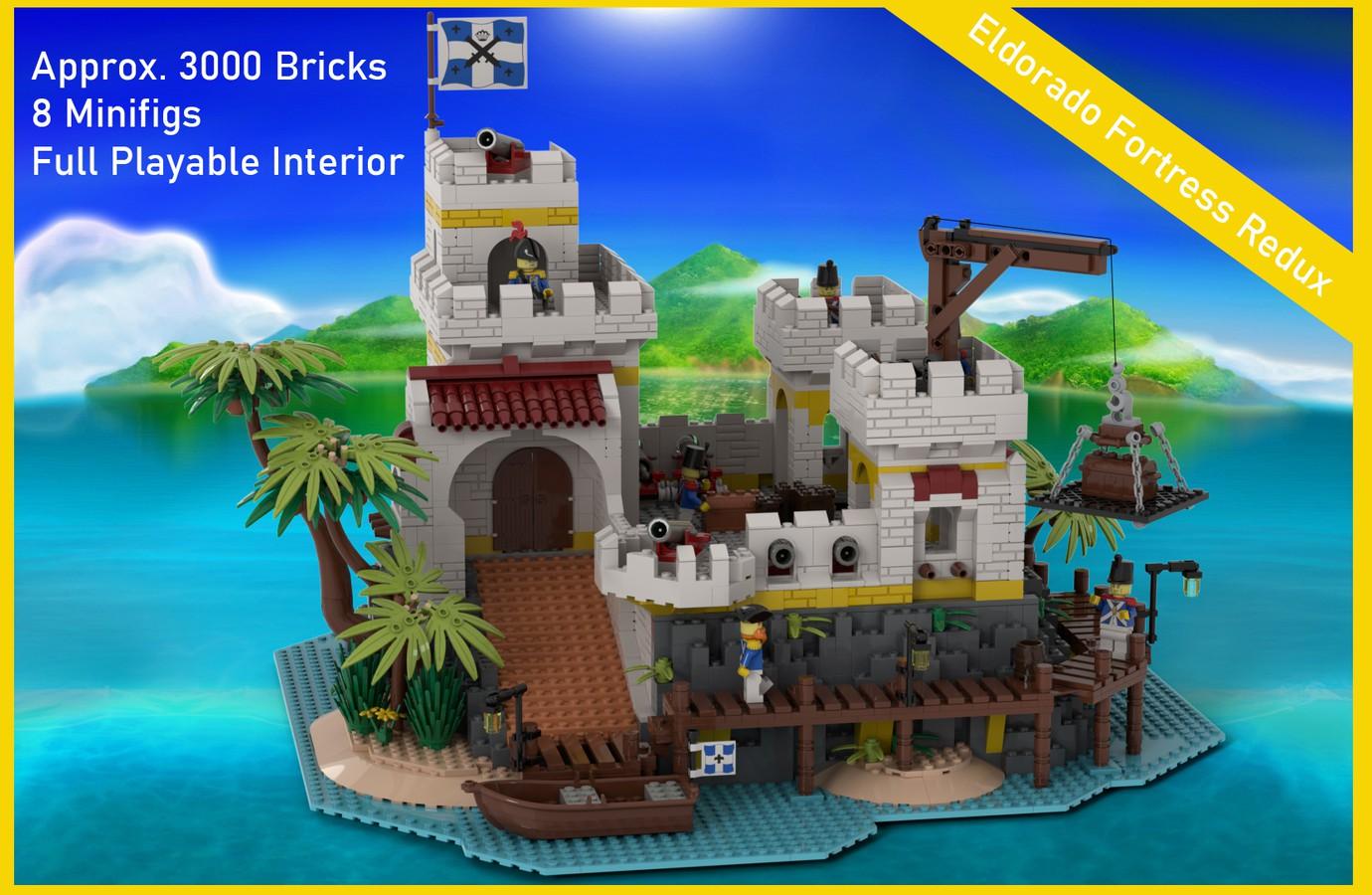 "Featured Image for ""Eldorado Fortress Redux"" by LM71Blackbird"