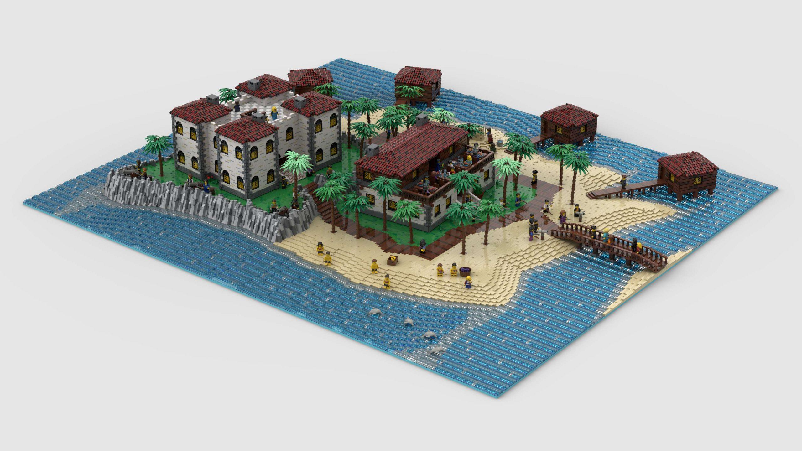 "Render of ""Plava de Palma Resort"" by NOD"