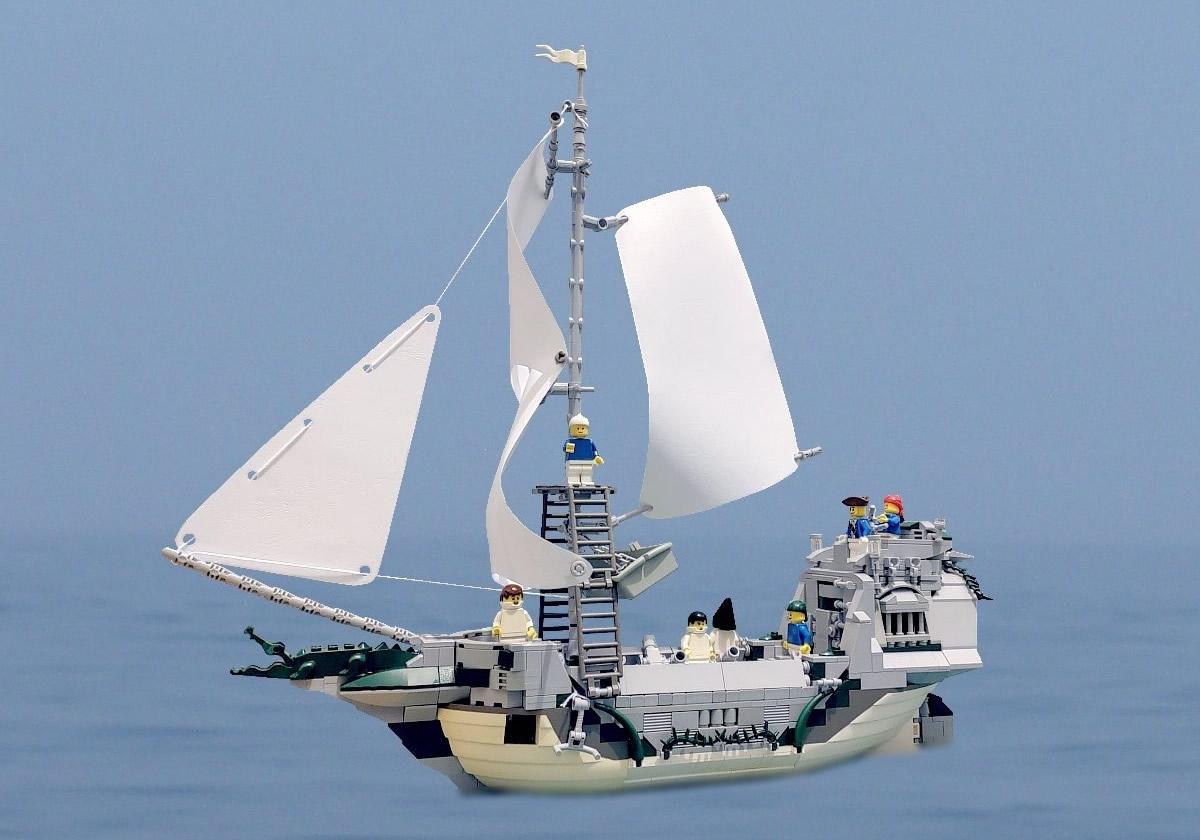 "LEGO Pirates - ""Repetence"" by Dreamweb"