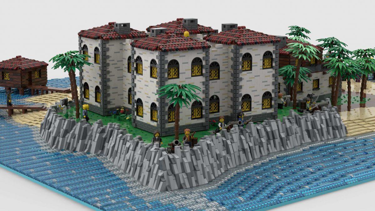 "Pirate LEGO - Render of ""Plava de Palma Resort"" by NOD"