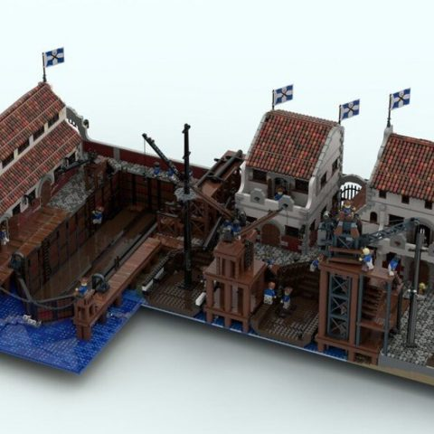 """Thumbnail Image of """"Beauchamp Shipyard Offices, Logistics, and Administration"""" by CapOnBOBS"""