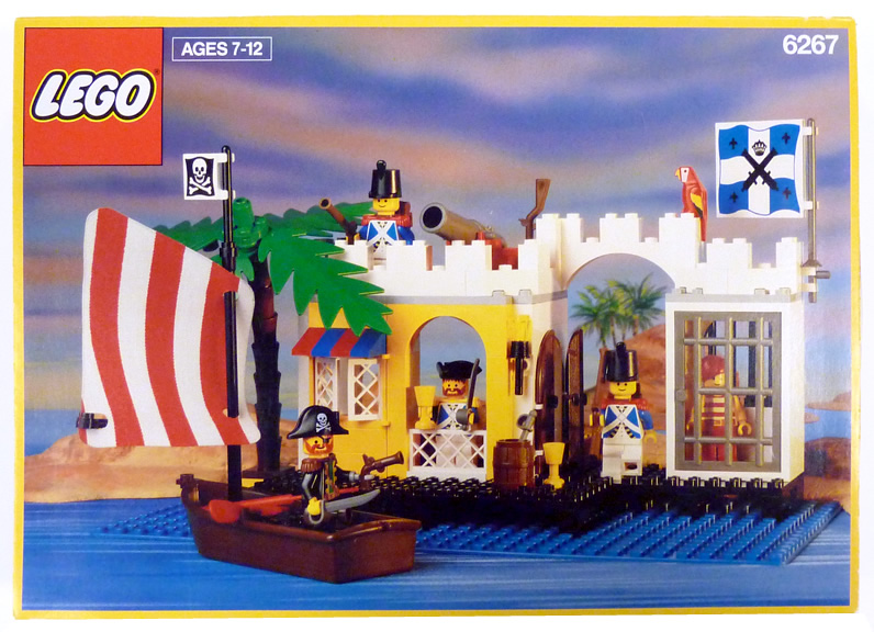 Box Art Scan - LEGO Pirates Set - 6267-Lagoon_Lockup