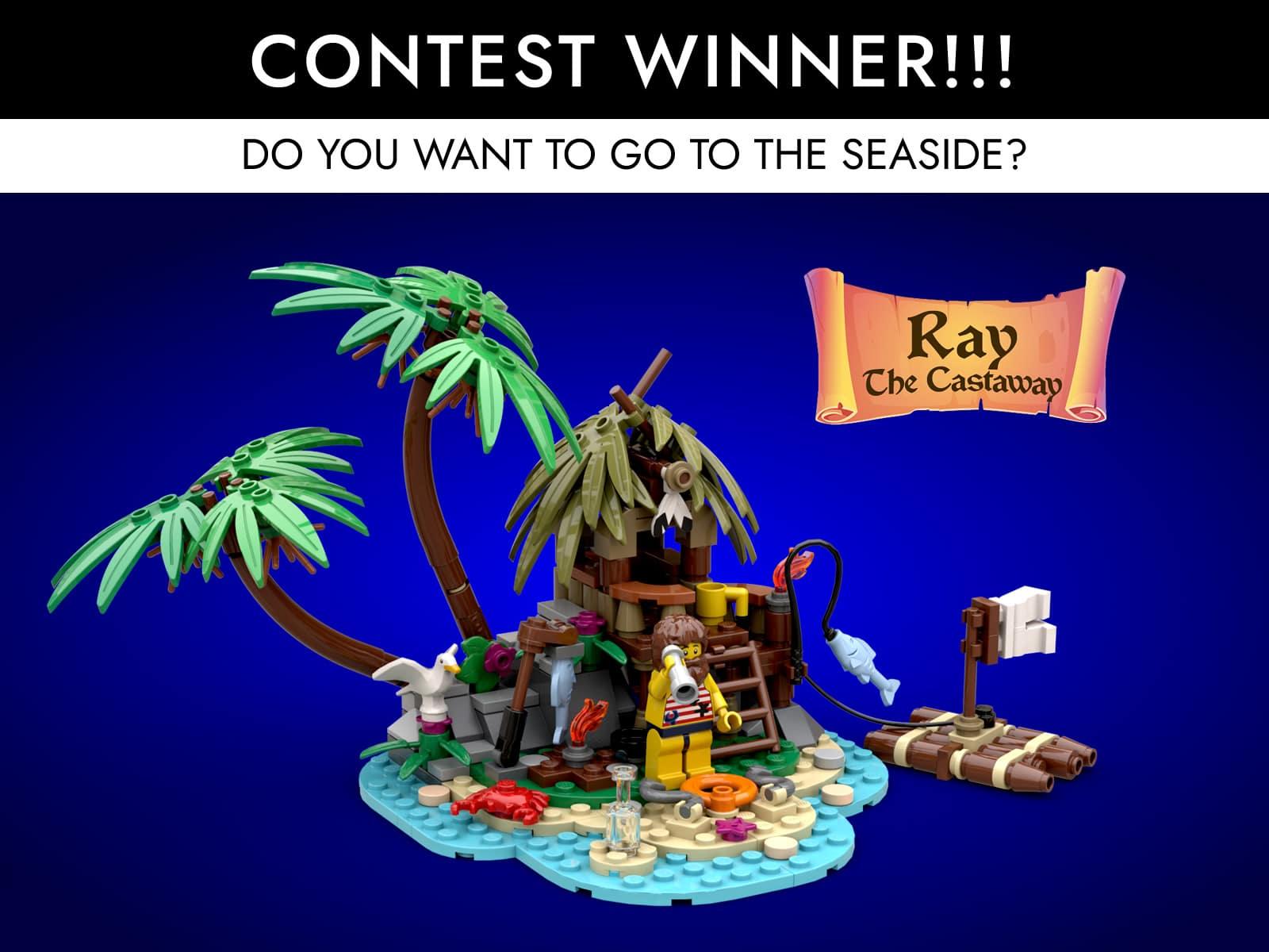 LEGO Ideas - Ray the Castaway - Contest Winner