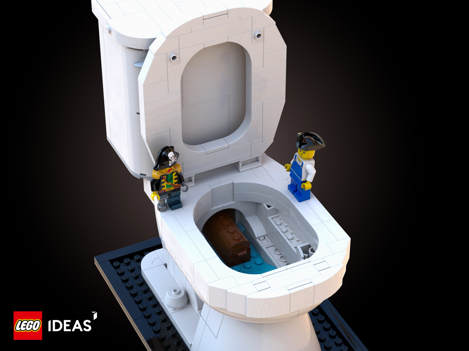 """Featured Image for """"Pirates of Toilet Cove"""" by Nick Lafreniere"""