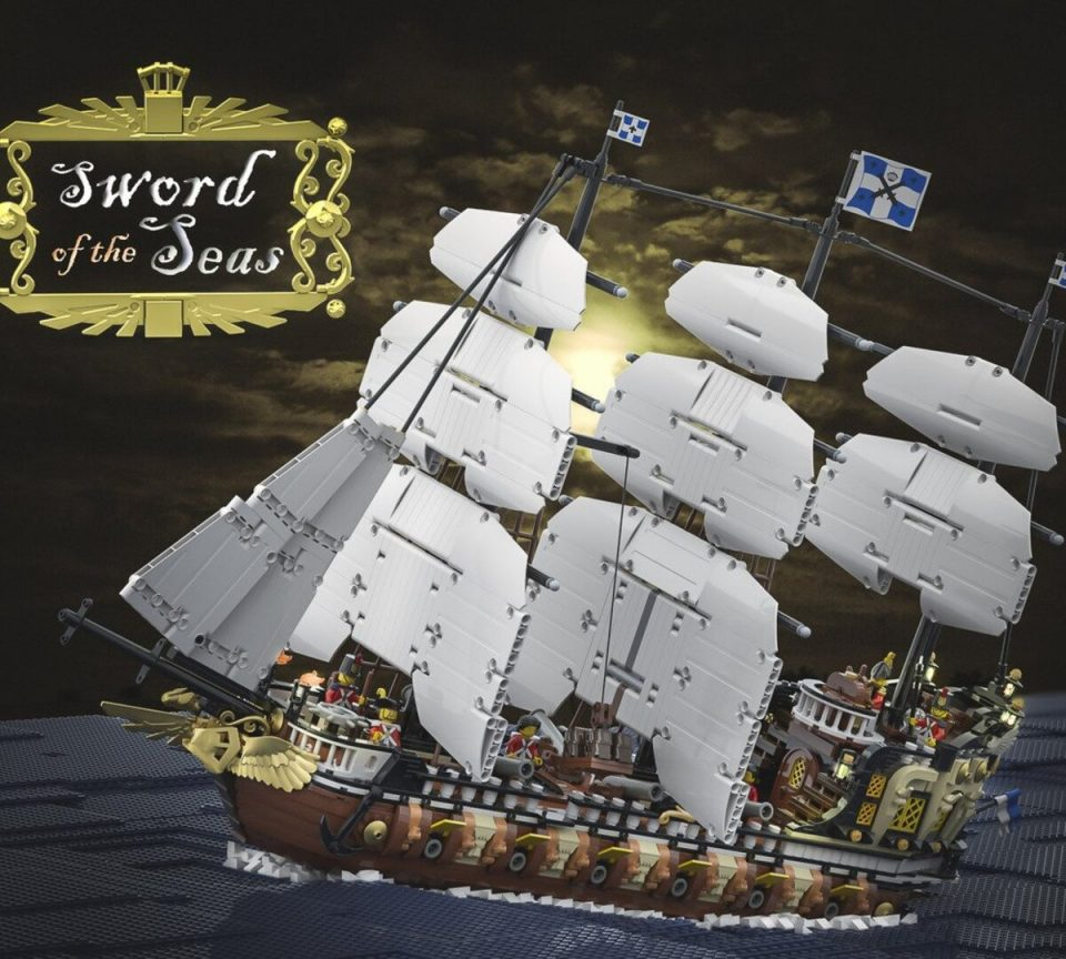 """Featured Image for """"The Sword of the Seas"""" by Bricky_Brick"""
