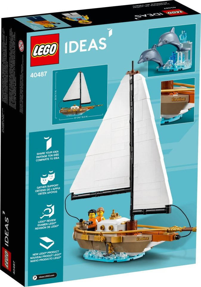 40487 Sailboat Adventure - Box - Back