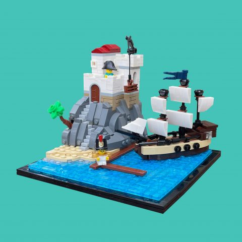 """Thumbnail Image of """"Tiny Trailblazers: Imperial Port"""" by Kev.the.Builder"""