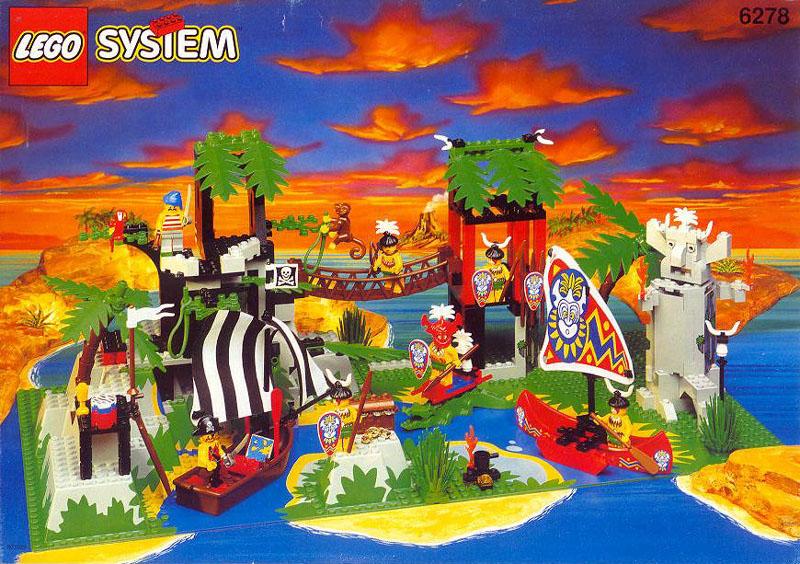 Photo of 6278 Enchanted Island Box Art