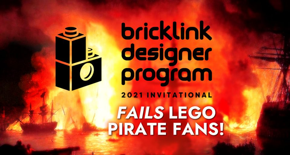 "Featured Image for ""Brick Link Designer Program Fails LEGO Pirates Fans"" Blog Post"