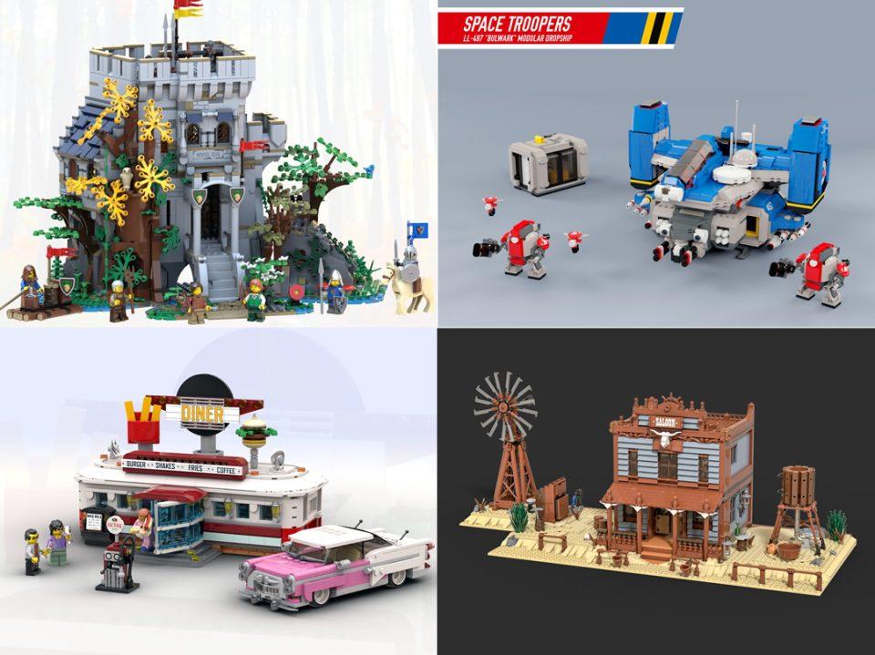 Photo of BrickLink Designer Program Finalists - The Classic Themes