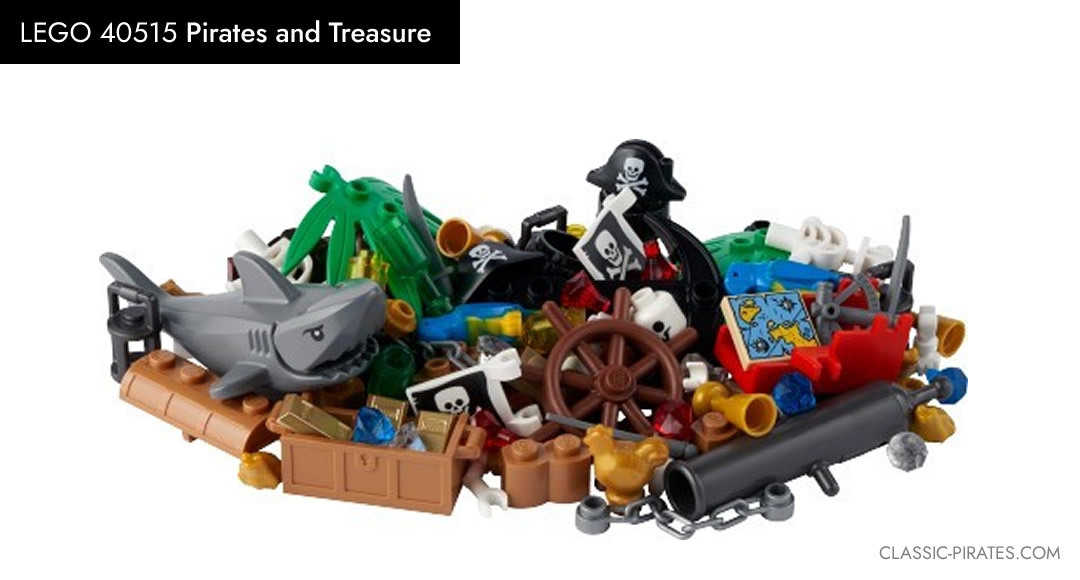 """Featured Image of LEGO -""""VIP Add-On Pack - 40515 """"Pirates and Treasure"""""""