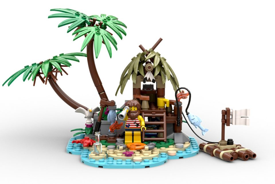 """Image of LEGO Ideas Content Winner """"Ray the Castaway"""""""