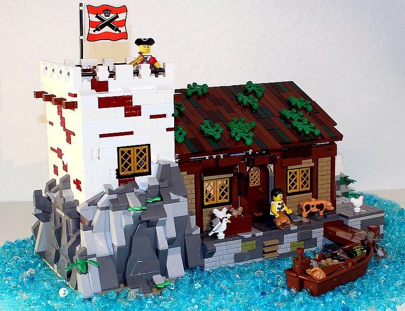 """Photo of rejected LEGO Ideas Submission """"Caswell Point"""" by Piraten"""