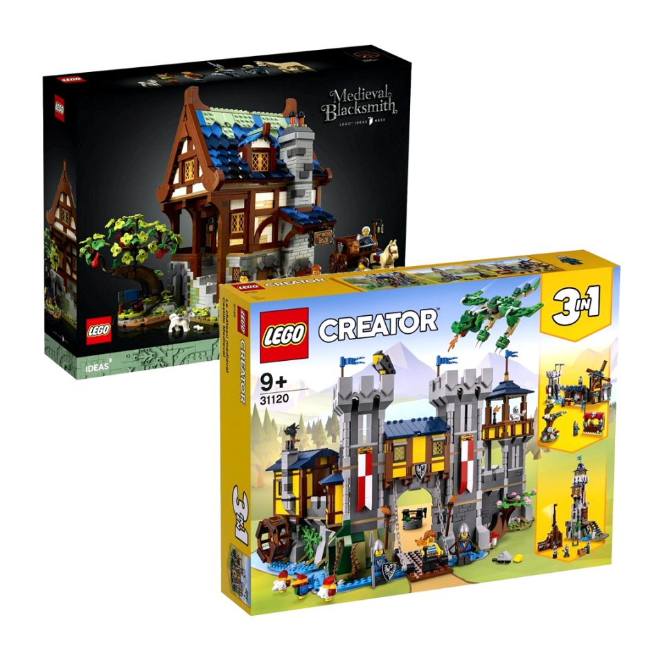Image of LEGO Castle Sets Released during 2021