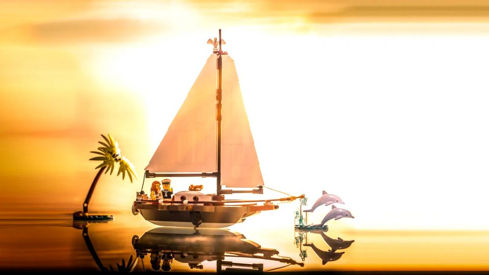 """Promotion image of LEGO IDEAS Contest Winner """"Sailing Ship Adventure"""" by Yc_Solo"""