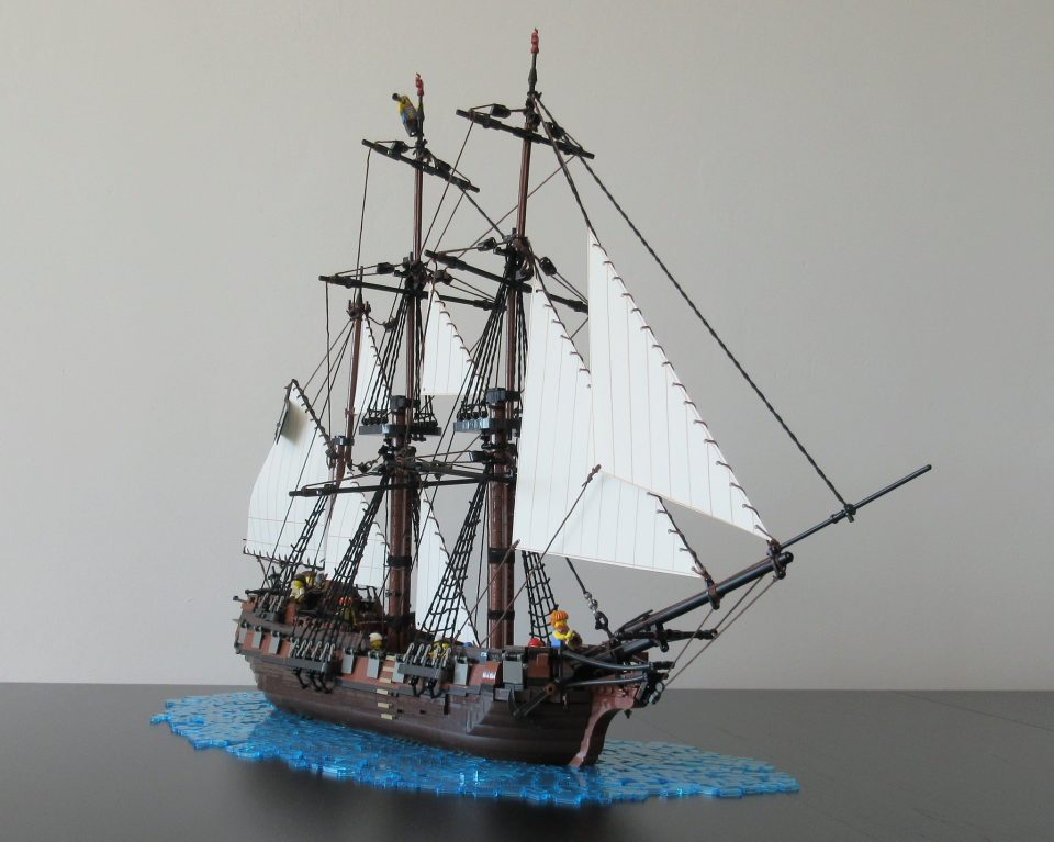 Pirate Barque The Spectre by Sebeus I