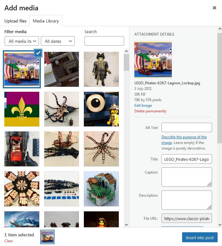 Screenshot - WordPress - Post - Add Media