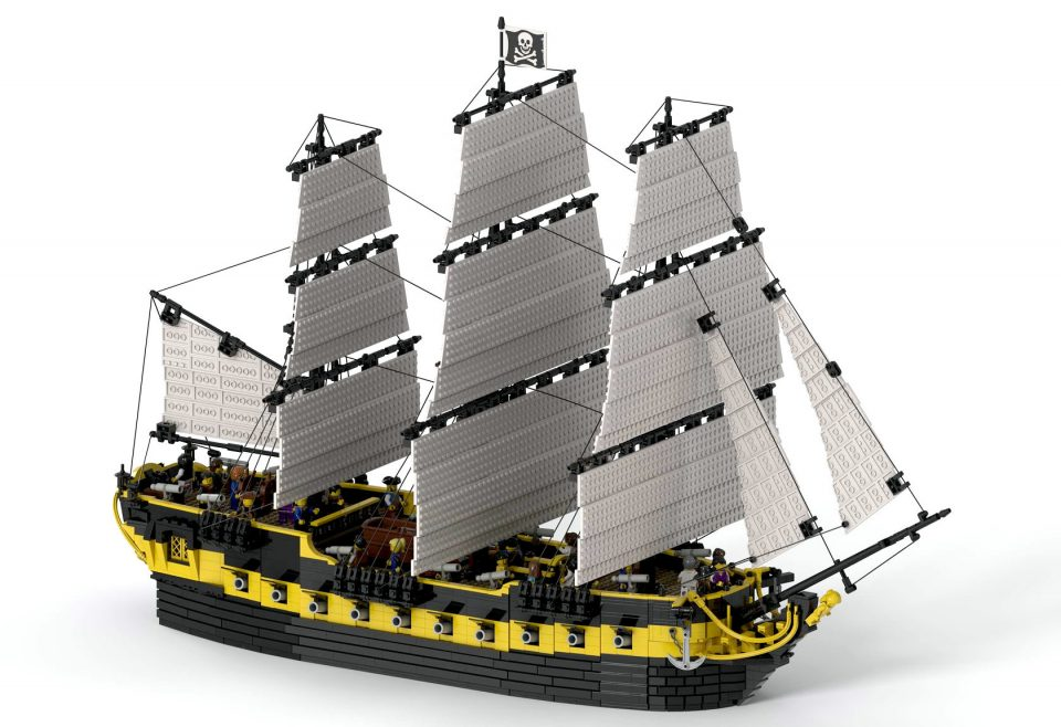 """Featured Image for """"Trinidad Pirate Ship"""" by NOD"""