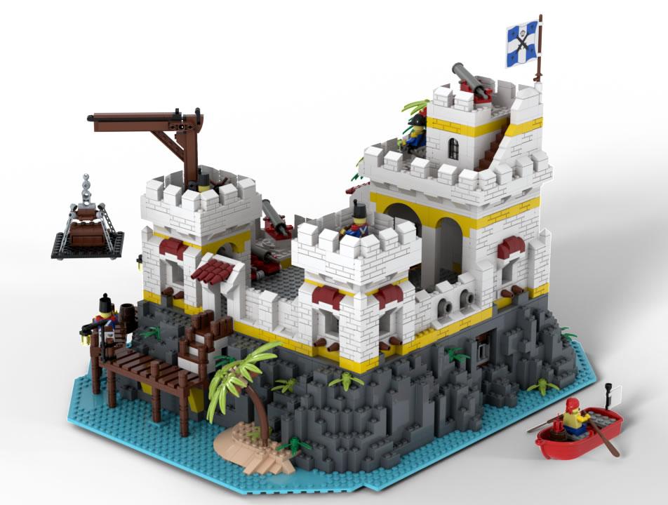 Eldorado Fortress Redux by LM71Blackbird 04
