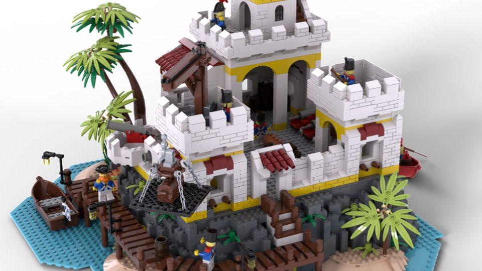 Render of Eldorado Fortress Redux