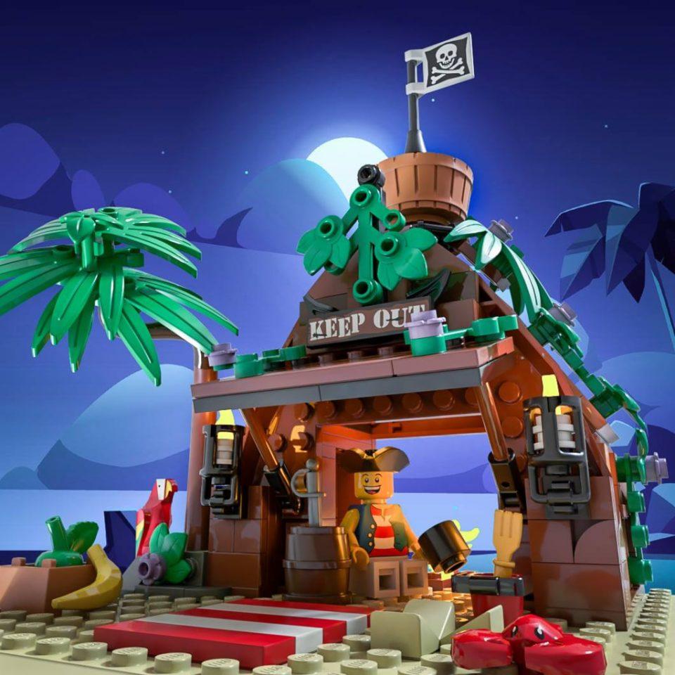 """Mr Riggings Vacation"" by Bricky Brick"