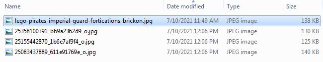 Screen shot of Bulk Renaming Files - Step 01
