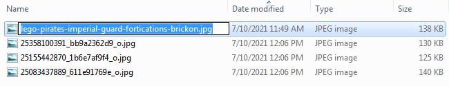 Screenshot of Bulk Renaming Files - Step 02