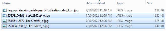 Screenshot of Bulk Renaming Files - Step 03