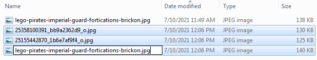 Screenshot of Bulk Renaming Files - Step 04
