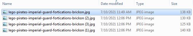 Screenshot of Bulk Renaming Files - Step 05