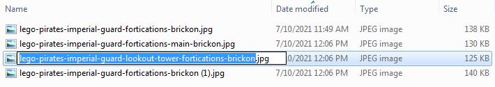Screenshot of Bulk Renaming Files - Step 06