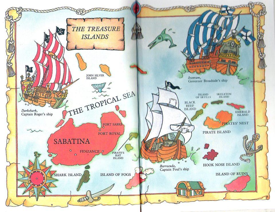 The Ironram and Captain Foul's Ship