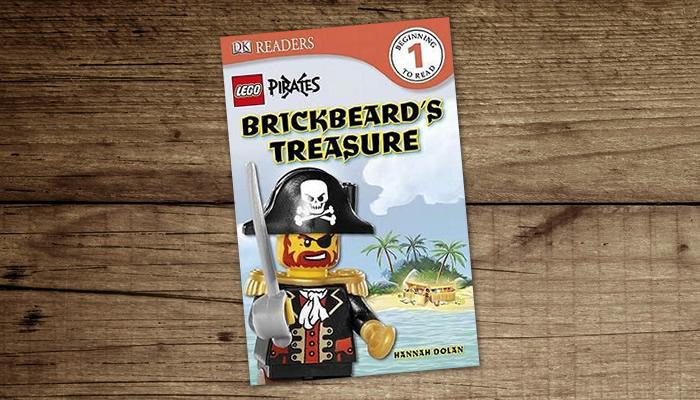"""LEGO Pirates """"Brickbeard's Treasure"""" Cover"""