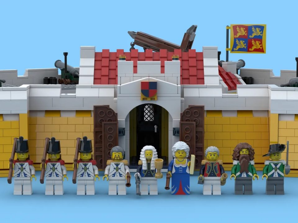 Crown Dominion Fortress minifigures