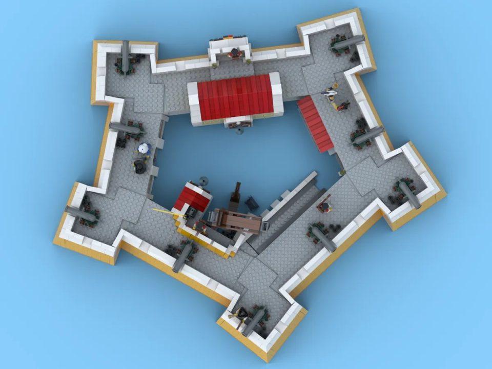 Crown Dominion Fortress bird's eye view