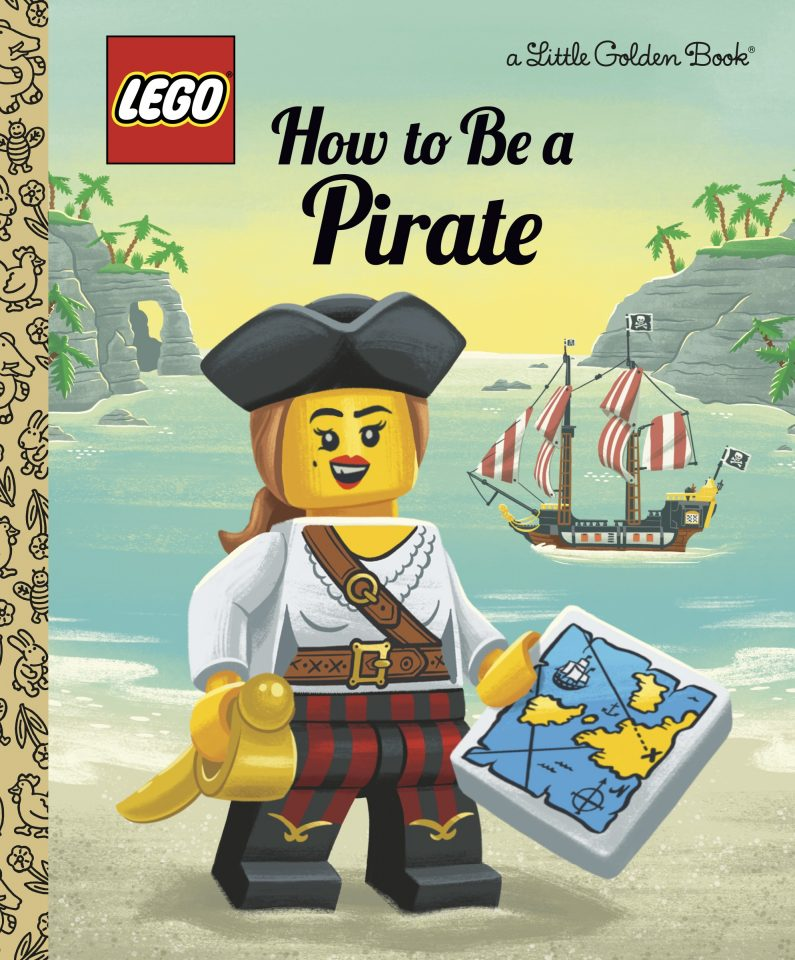 """LEGO Golden Book """"How to Be a Pirate"""""""