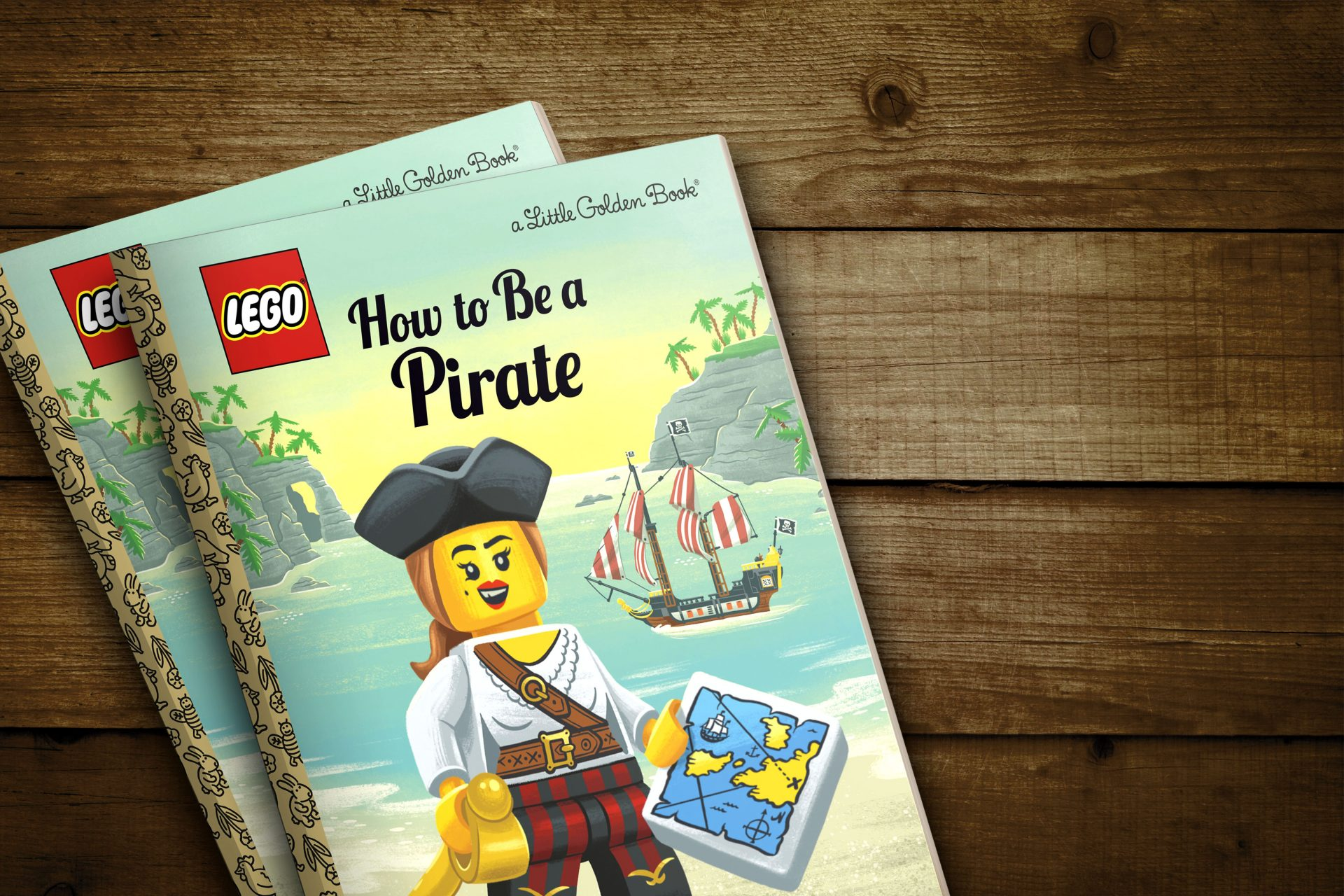 """Featured Image for """"How to be Pirate"""" Golden Book"""