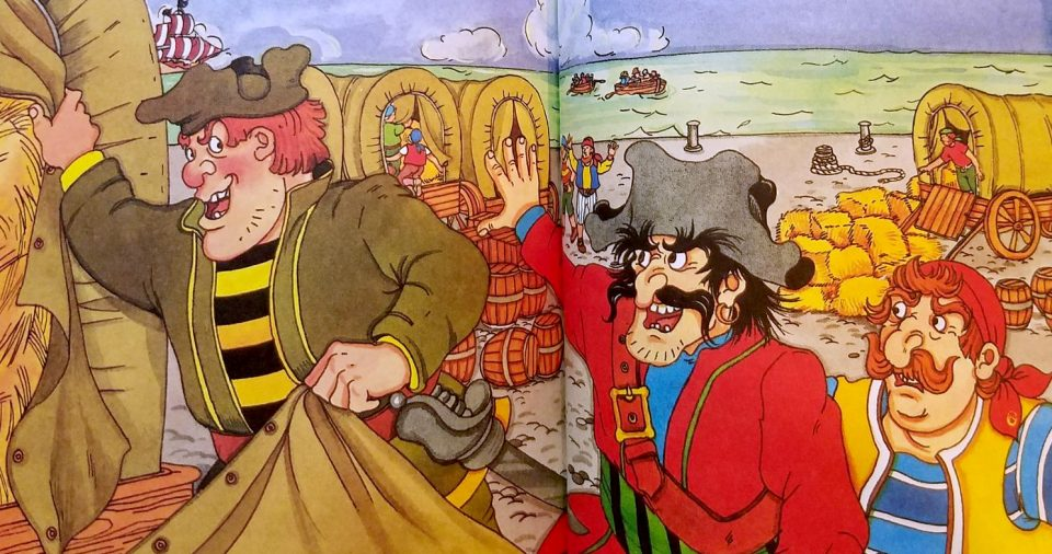 Captain Foul from the Ladybird Books
