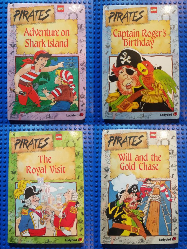 Covers of the LEGO Pirates Ladybird Books