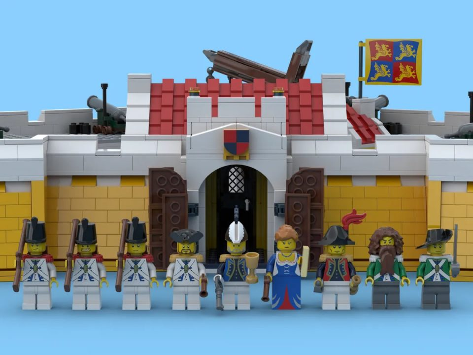 The minifigures of Crown Dominion Fortresst
