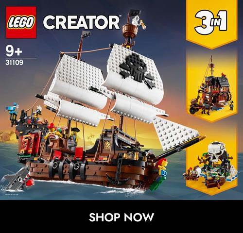 3 in 1 Creator 31109 Pirate Ship